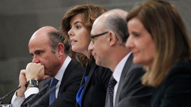 Los cuatro de Rajoy