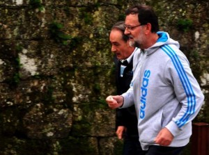 Rajoy no deja de pensar como estirar su mandato hasta cuando camina por el campo